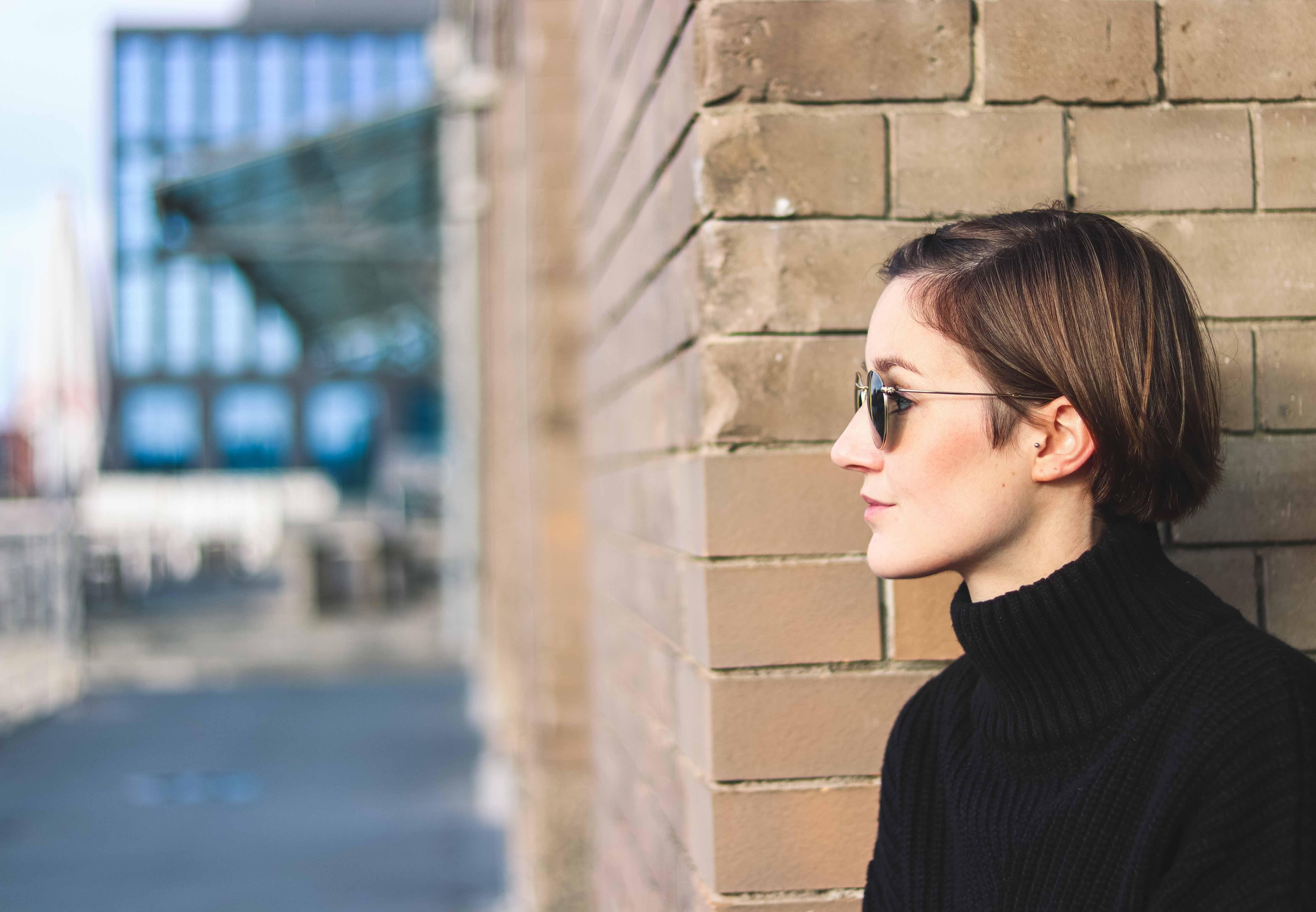 Porträt mit Sonnenbrille von Ray-Ban