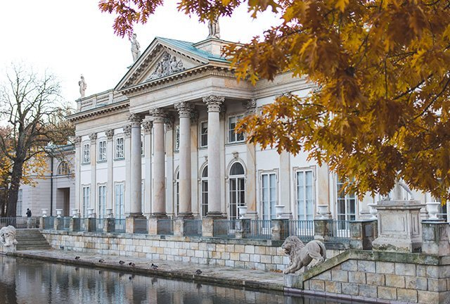 Wasserschloss in Warschau