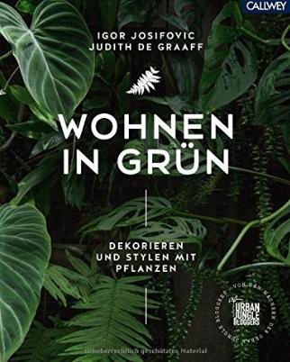 """Buchcover """"Wohnen in Grün"""""""