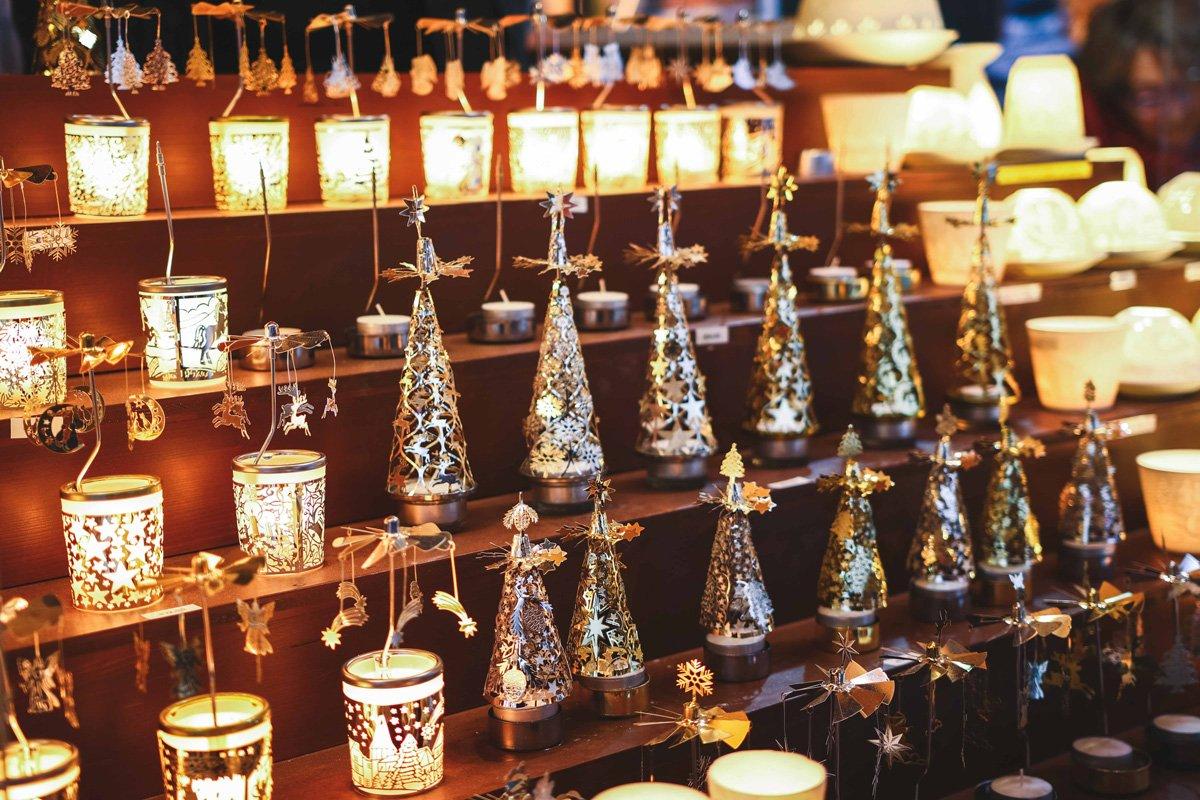 Kerzenhalter auf dem Christkindlmarkt Salzburg