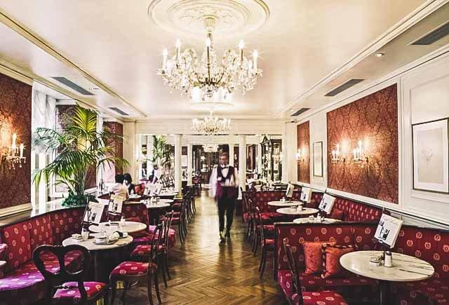 Café Sacher in Salzburg