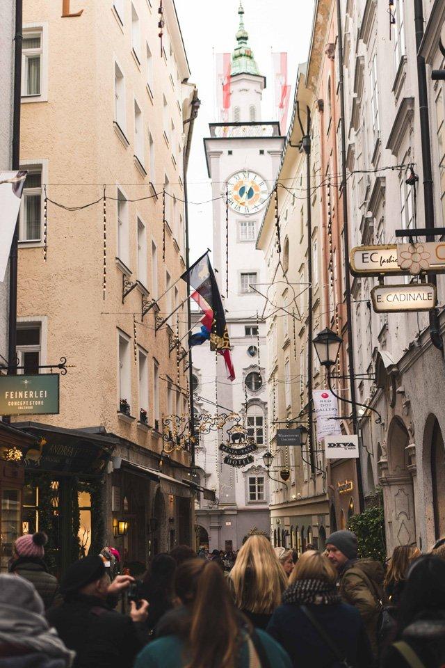 Judengasse in Salzburg