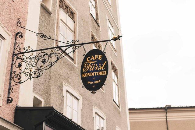 Konditorei Fürst in Salzburg