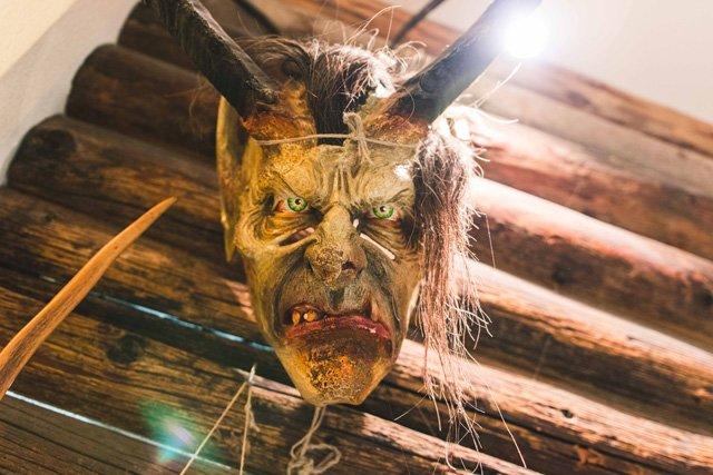 Krampus Maske in Hüttschlag