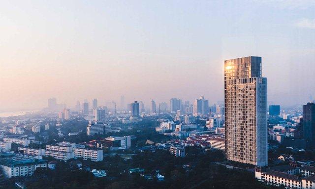Zimmer Aussicht vom So Sofitel in Bangkok