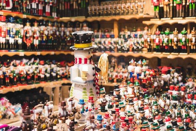 Kunsthandwerk auf dem Christkindmarkt in Salzburg