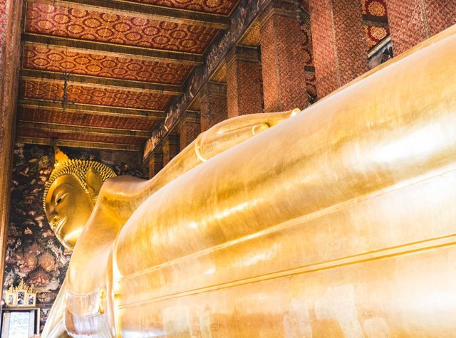 Wat Pho Tempel mit liegendem Buddha