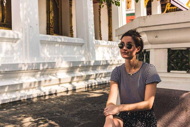 Pause im Wat Phra Kaeo