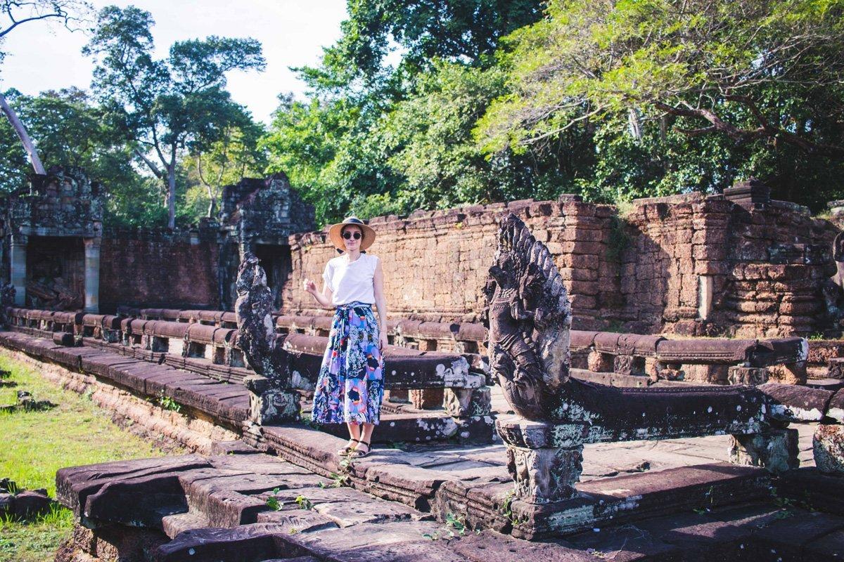 Outfit für Angkor Wat