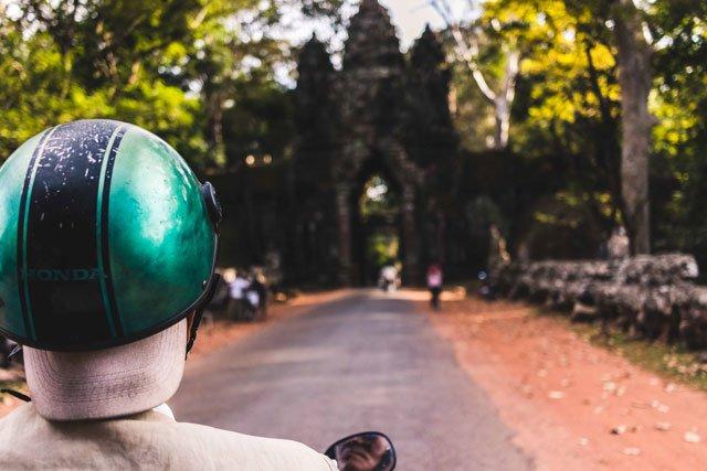 Mit dem Tuktuk durch Angkor Wat