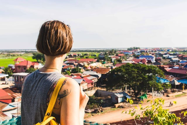 Aussicht der Umgebung von Siem Reap