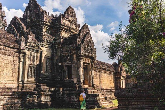 Fassade des Banteay Samre Tempels