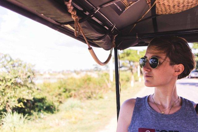 Porträt im Tuktuk