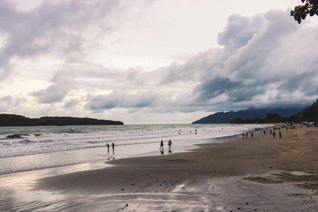 Pantai Cenang Strand auf Langkawi
