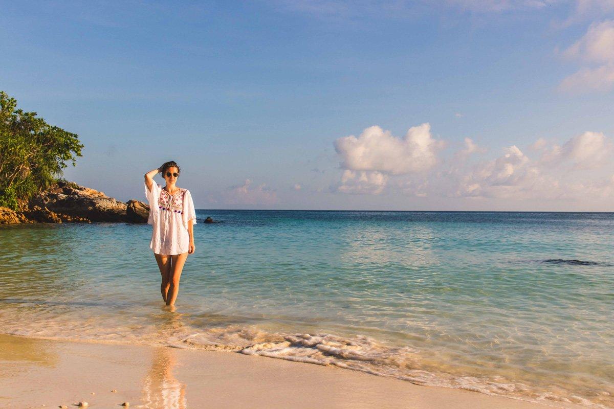 Im Wasser am Sanom Beach auf Ko Lipe