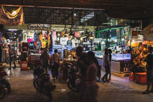Nightmarket in Siem Reap