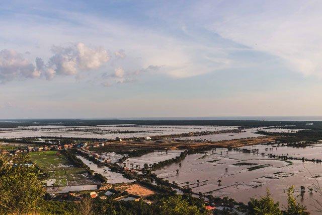 Blick auf die Umgebung von Siem Reap
