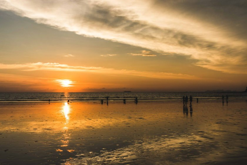 Sonnenuntergang am Klong Dao Beach auf Koh Lanta