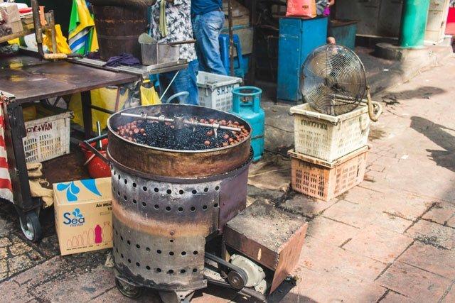 Street Food in China Town Kuala Lumpur