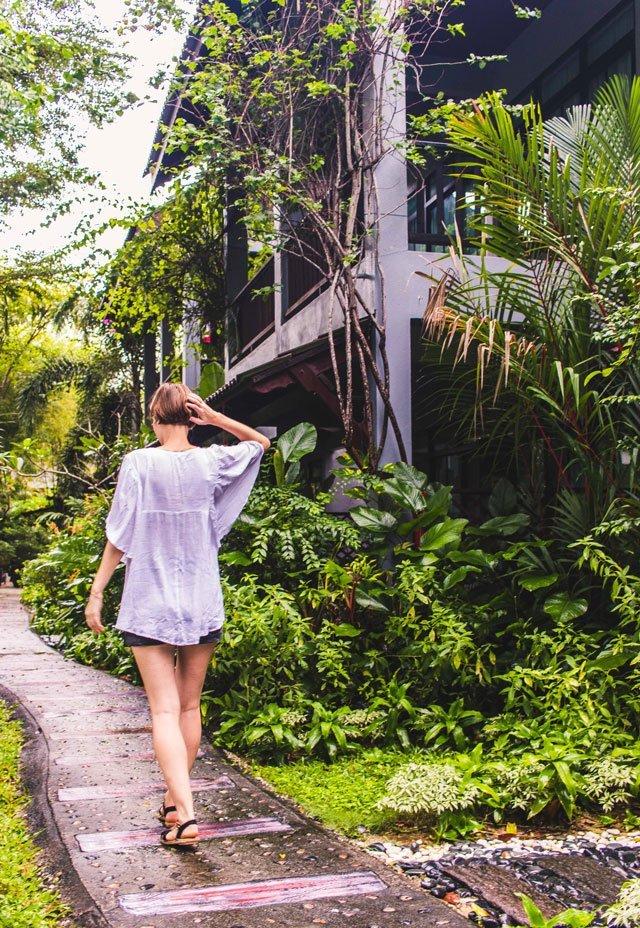 Garten der Villa Molek auf Langkawi