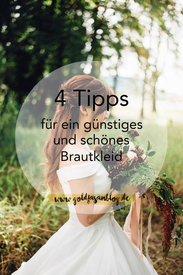 4 Tipps für ein günstiges und schönes Brautkleid