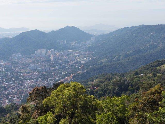 Ausblick vom Penang Hill