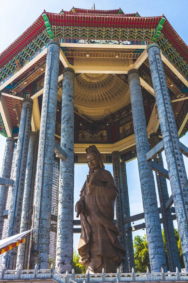Kuan Yin Statue, Kek Lok Si auf Penang