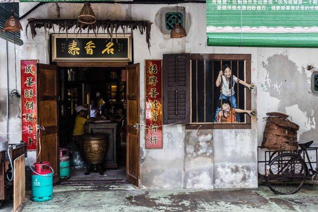 Street Art in George Town auf Penang
