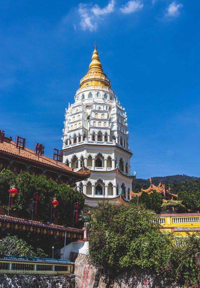 Pagode der 10.000 Buddhas in Kek Lok Si auf Penang