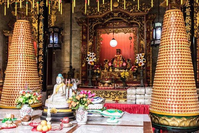 Tempel in George Town auf Penang