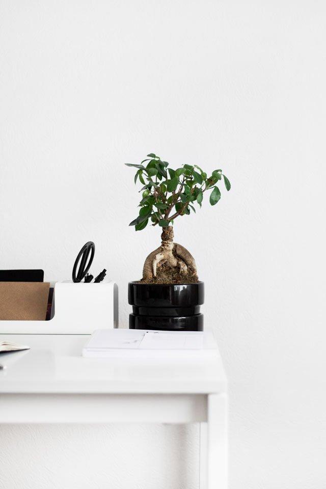 Schreibtisch im Homeoffice