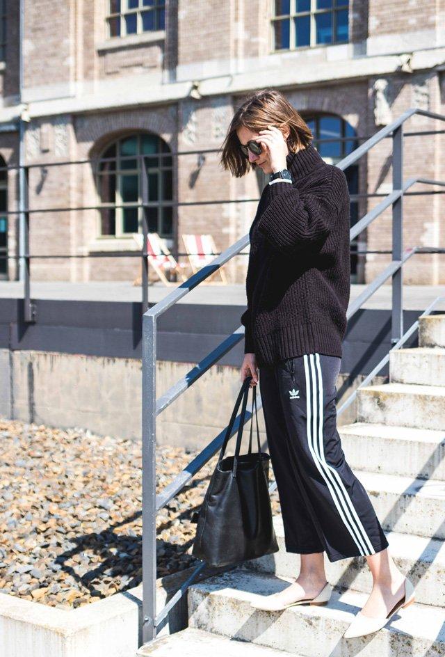 Outfit mit Culotte von Adidas