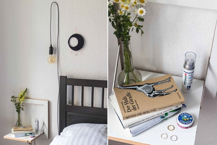 Schlafzimmer Update // Das Fläpps Regal von Ambivalenz