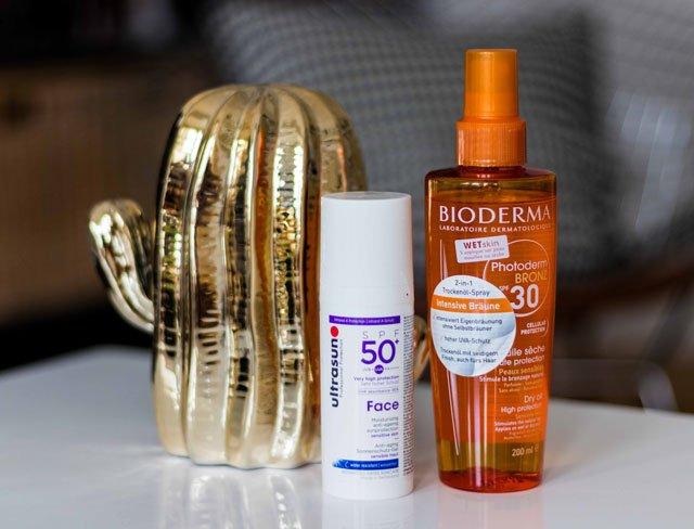 Sonnenschutz für Gesicht und Körper von Bioderma und Ultrasun