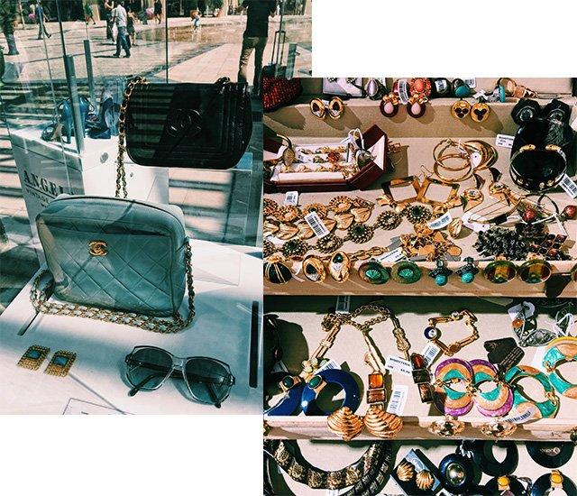 Vintage Chanel Tasche und Schmuck bei ANGELO im McArthurGlen Provence