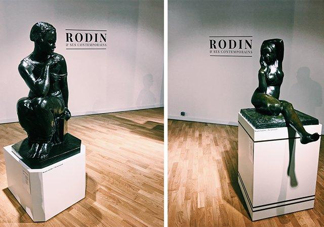 Rodin Ausstellung im McArthurGlen Provence