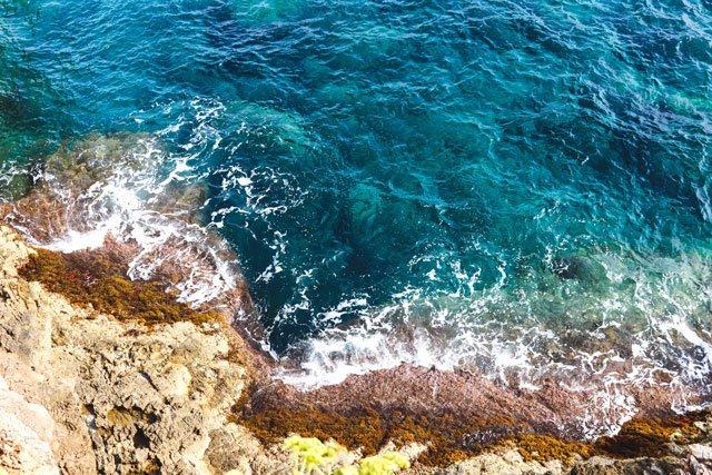 Meer am Cap d'Antibes