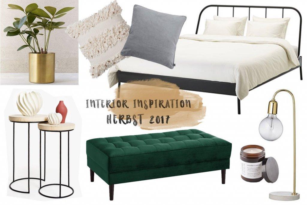 Interior Inspiration // Die schönsten Schlafzimmer-Trends im Herbst 2017