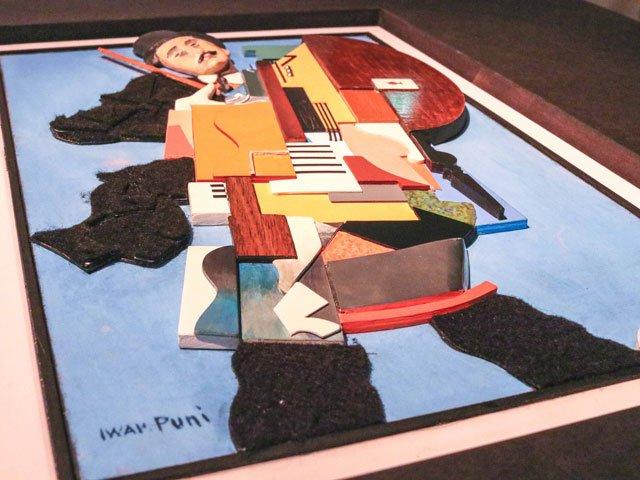 Tastbild von Iwan Puni in der Berlinischen Galerie
