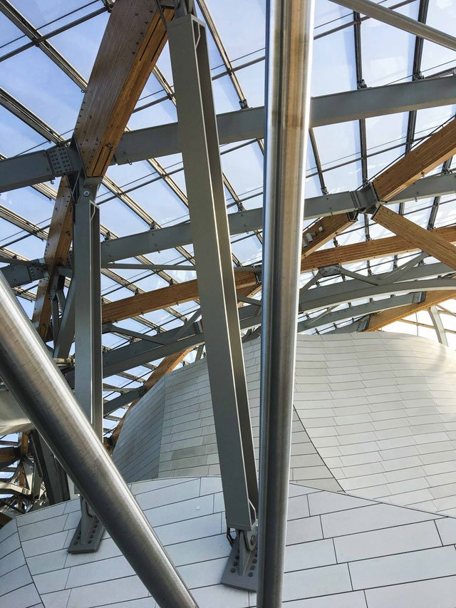 Dachterrasse der Fondation Louis Vuitton