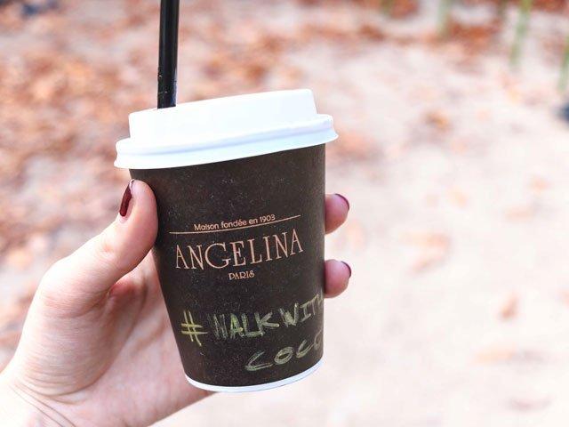 Heiße Schokolade von Angelina Paris