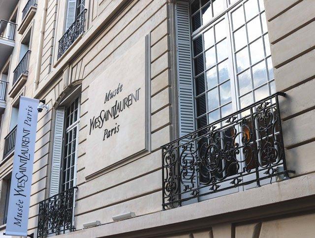 Musée Yves Saint Laurent von außen