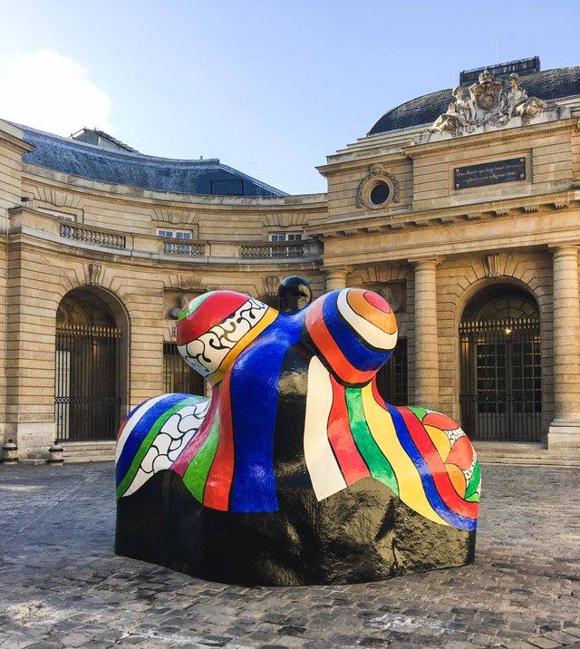 Niki de Saint Phalle im Monnaie de Paris