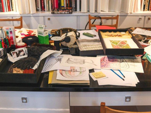 Schreibtisch von Yves Saint Laurent in Paris