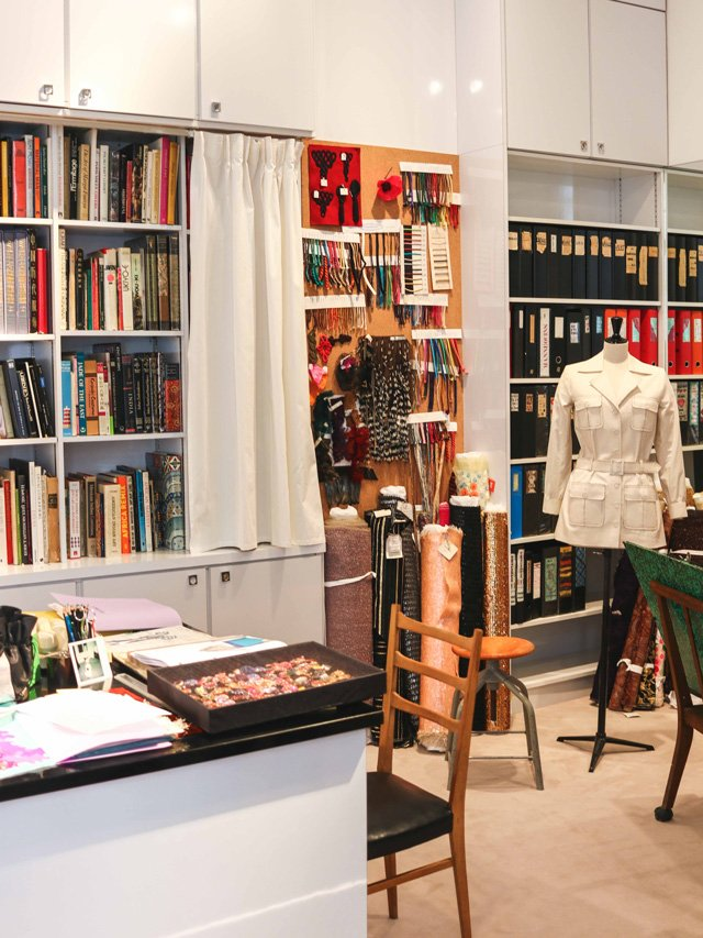Ehemaliges Studio von Yves Saint Laurent in Paris