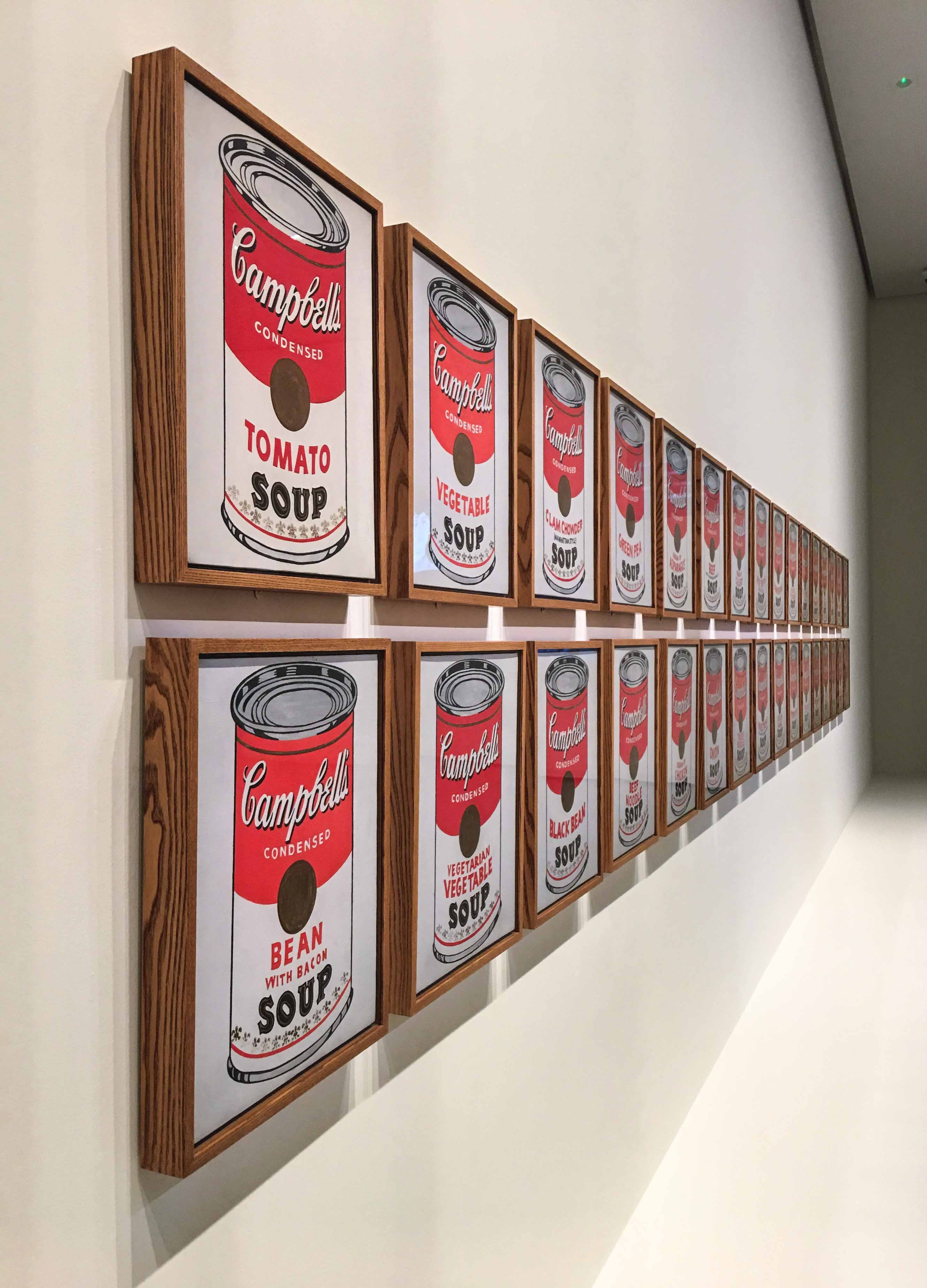 Soup Cans von Andy Warhol