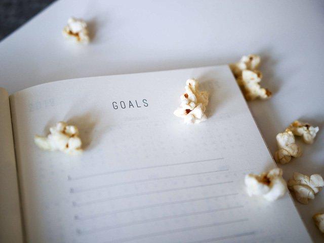 Ziele Seite im Kalender