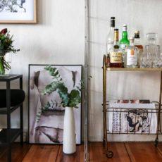 Wohnzimmer mit Minibar