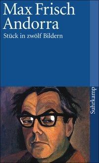 Buchcover von Max Frisch - Andorra