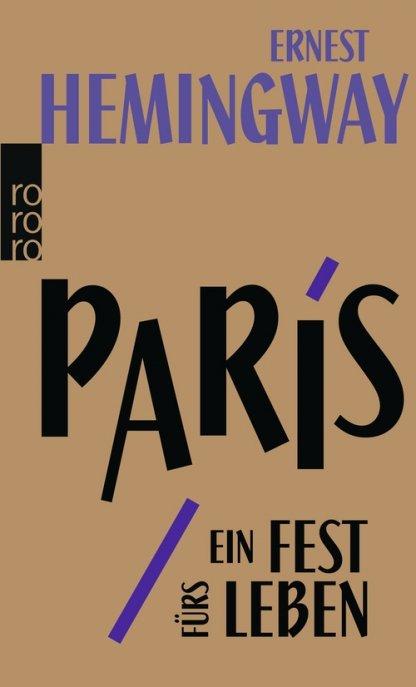 Buchcover von Hemingway - Paris, ein Fest fürs Leben